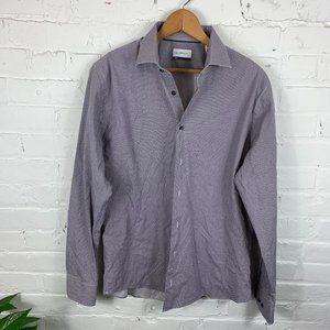 Calibrate Long Sleeve Button-Down Dress Shirt XL